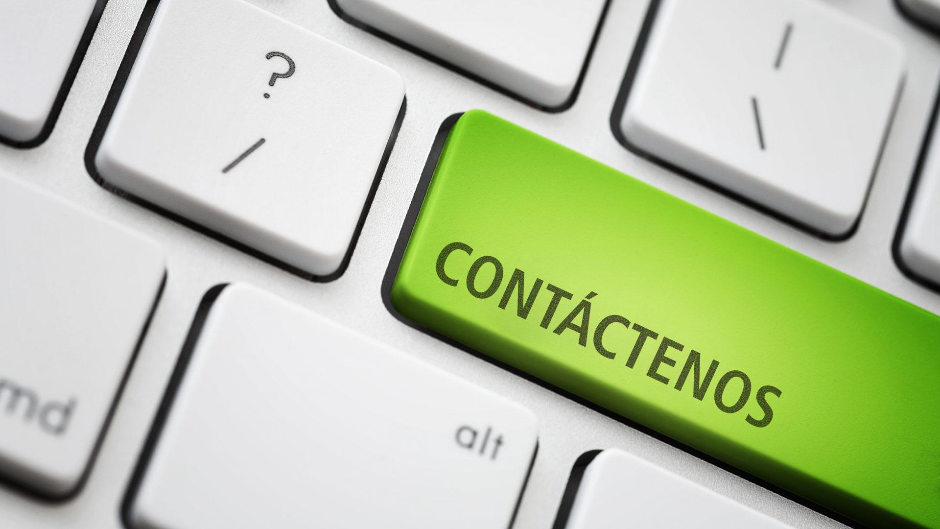 Si desea más información, póngase en contacto con nosotros